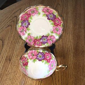 Royal Standard China cup & saucer CARMEN pattern